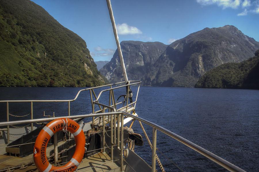 Cruising Along Doubtful Sound