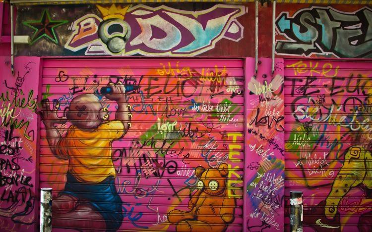 Marseille Cours Julien Street Art