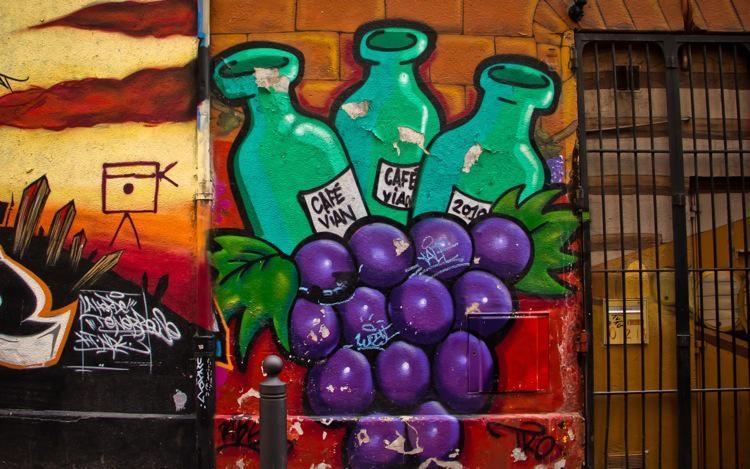 Marseille Cours Julien, Street Art