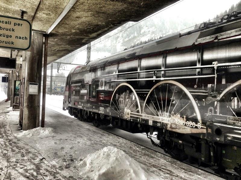Vintage Decoration Train