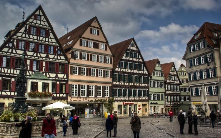 Tübingen, The Town Centre