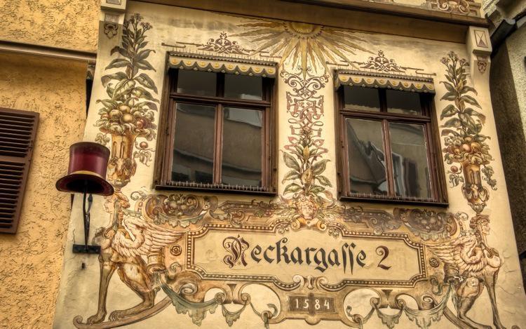 Tubingen Decorated Houses