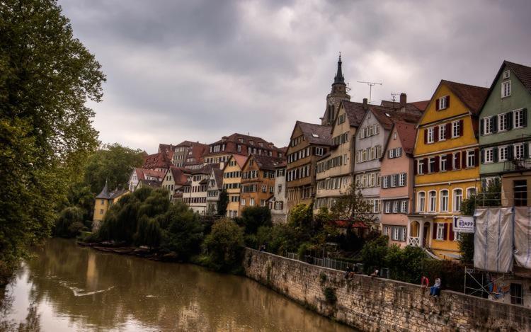 Tübingen Colorful Houses
