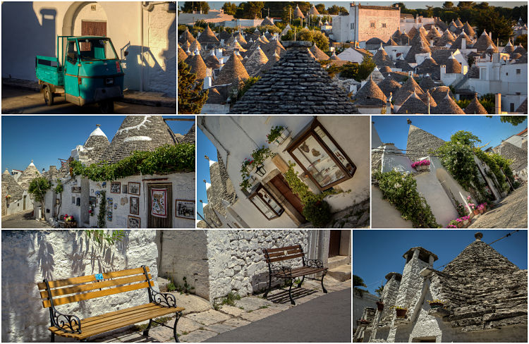 alberobello collage