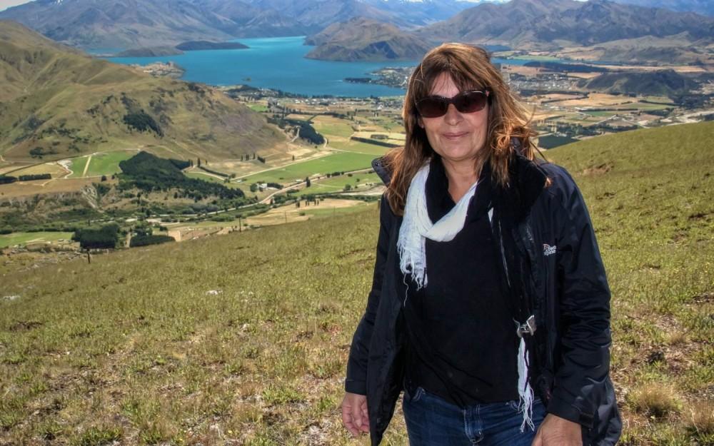Simon at Lake Wanaka