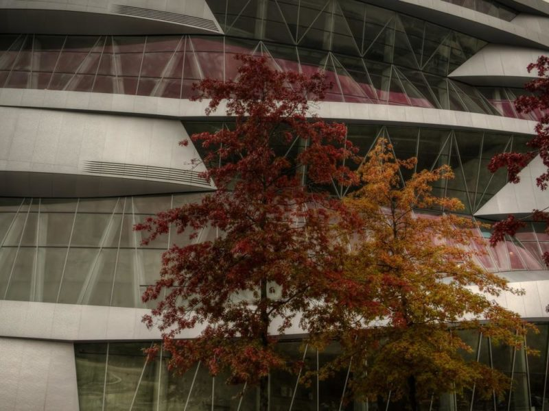 Red and Silver - Mercedes-Benz Museum