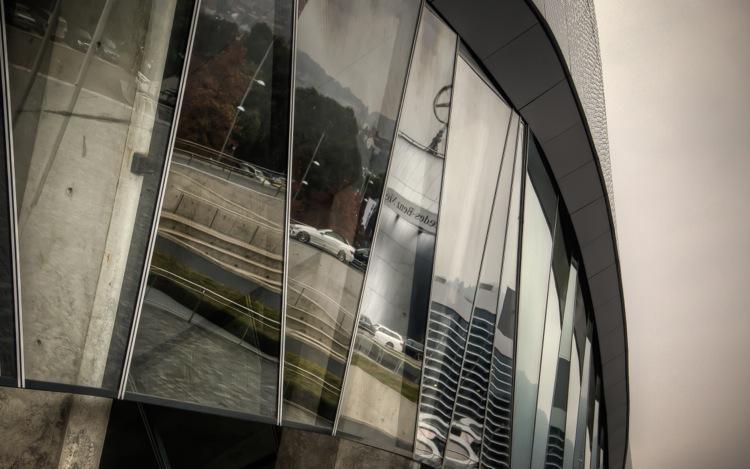 Stuttgart Mercedes-Benz Museum, Detail