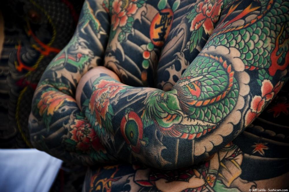 irezumi, japanese tattoos