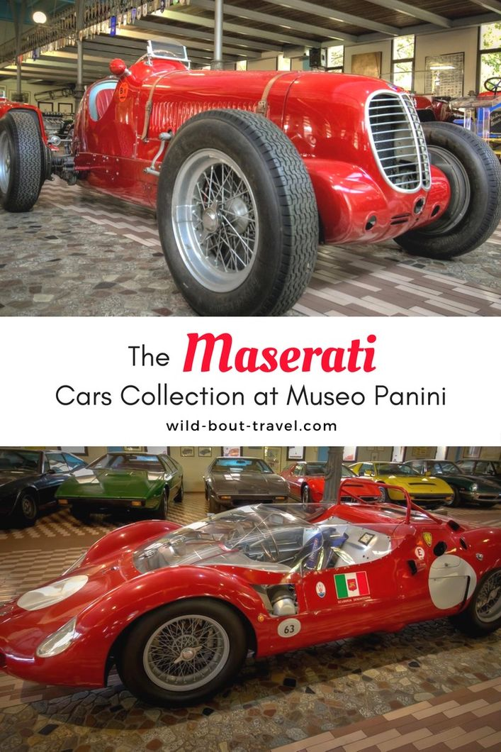 Maserati Cars Collection at Museo Museum