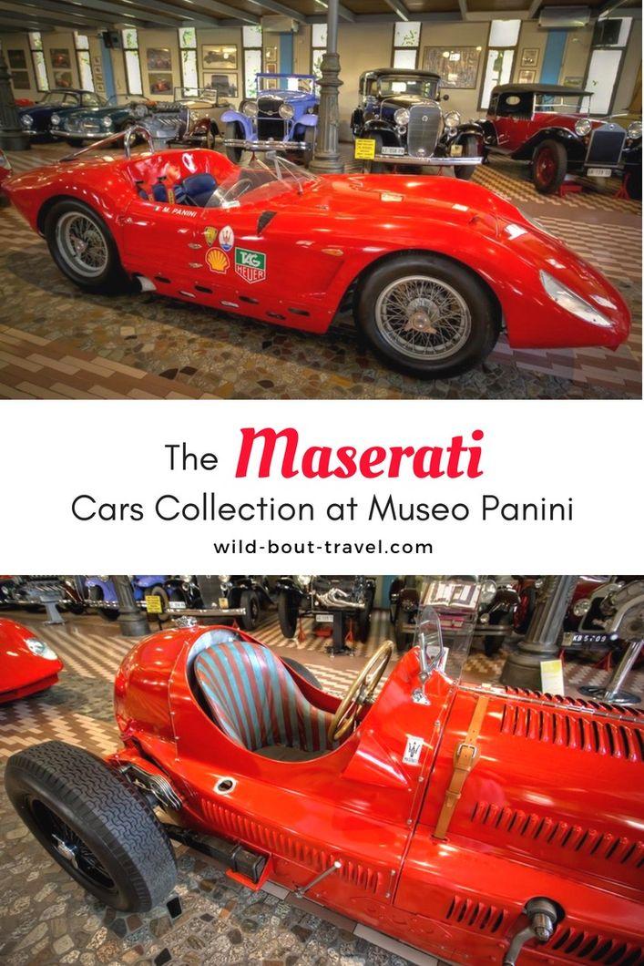 Maserati Cars Collection at Museo Panini