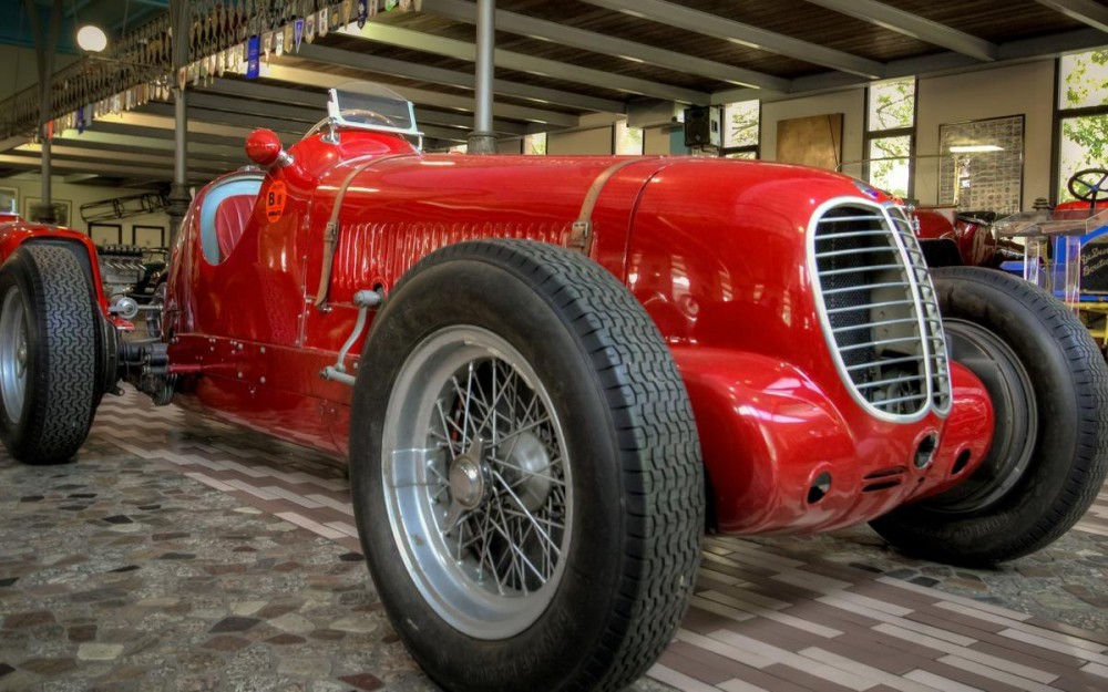 Panini Museum, Maserati Cars Collection