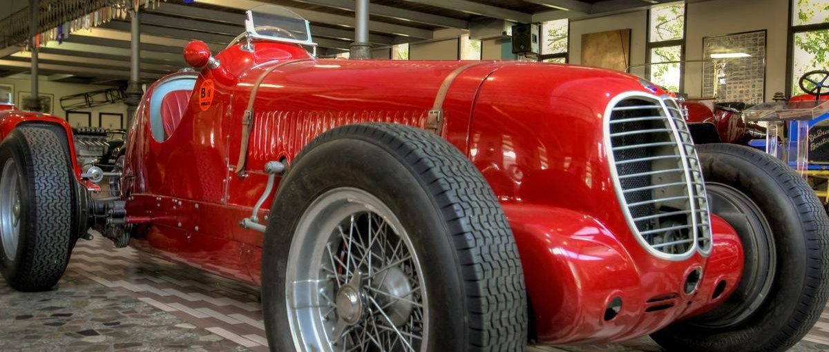 Panini Museum, Maserati Cars Collection-2