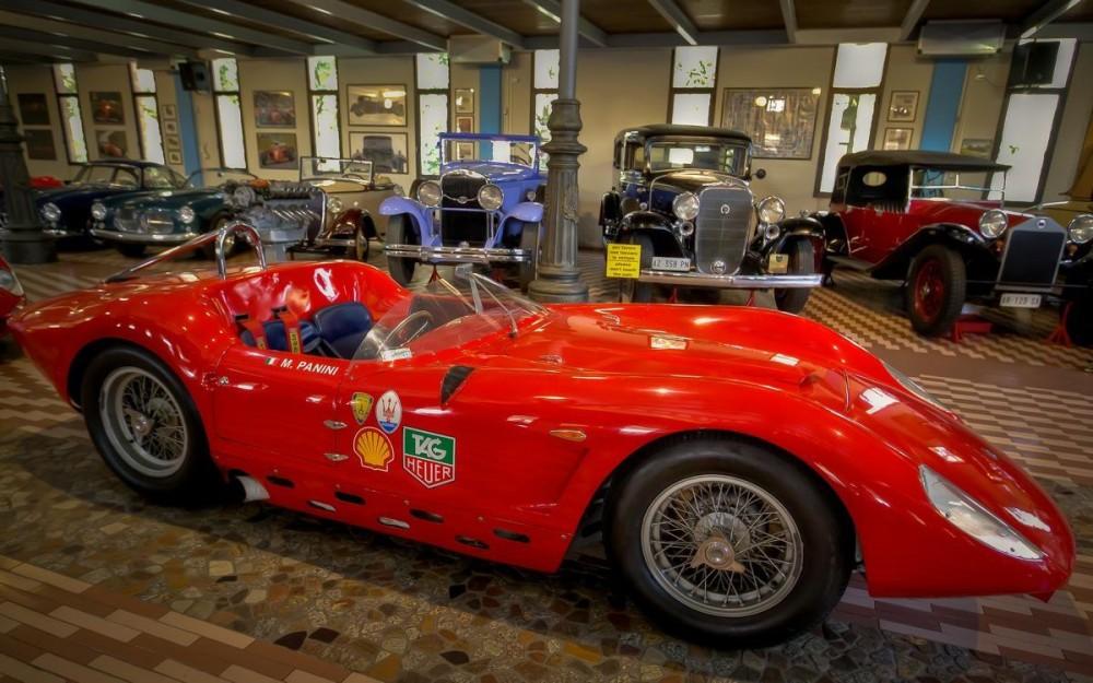 Panini Museum, Maserati Cars Collection-5b
