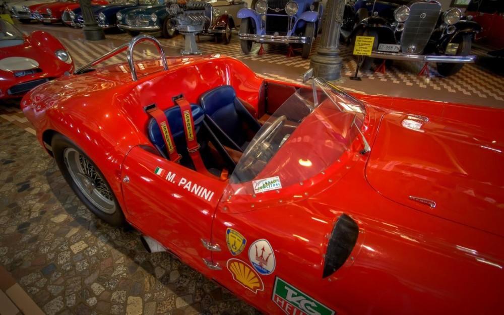 Panini Museum, Maserati Cars Collection-6