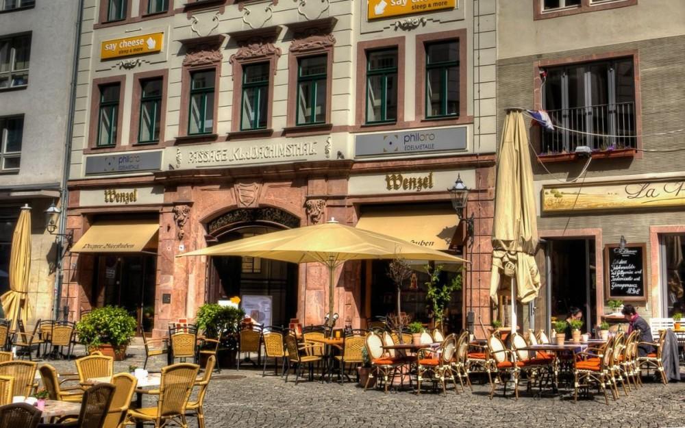 Leipzig Al Fresco Cafés