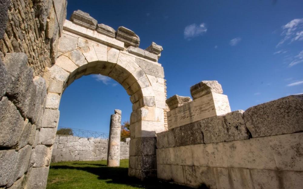 Molise, The Sanctuary of Pietrabbondante