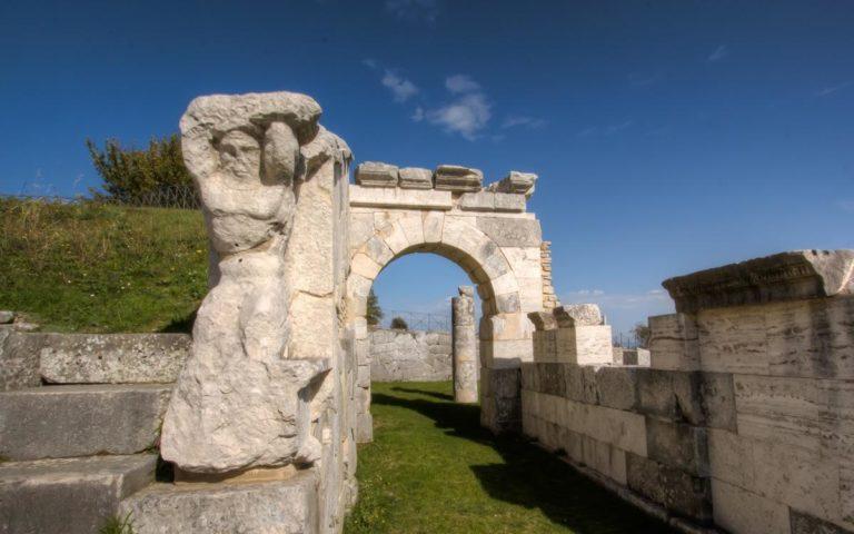 Molise, Pietrabbondante Archaeological Site