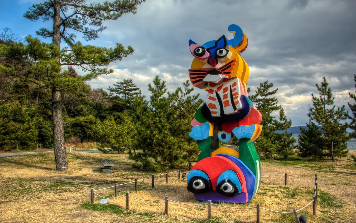 Naoshima, Benesse Garden
