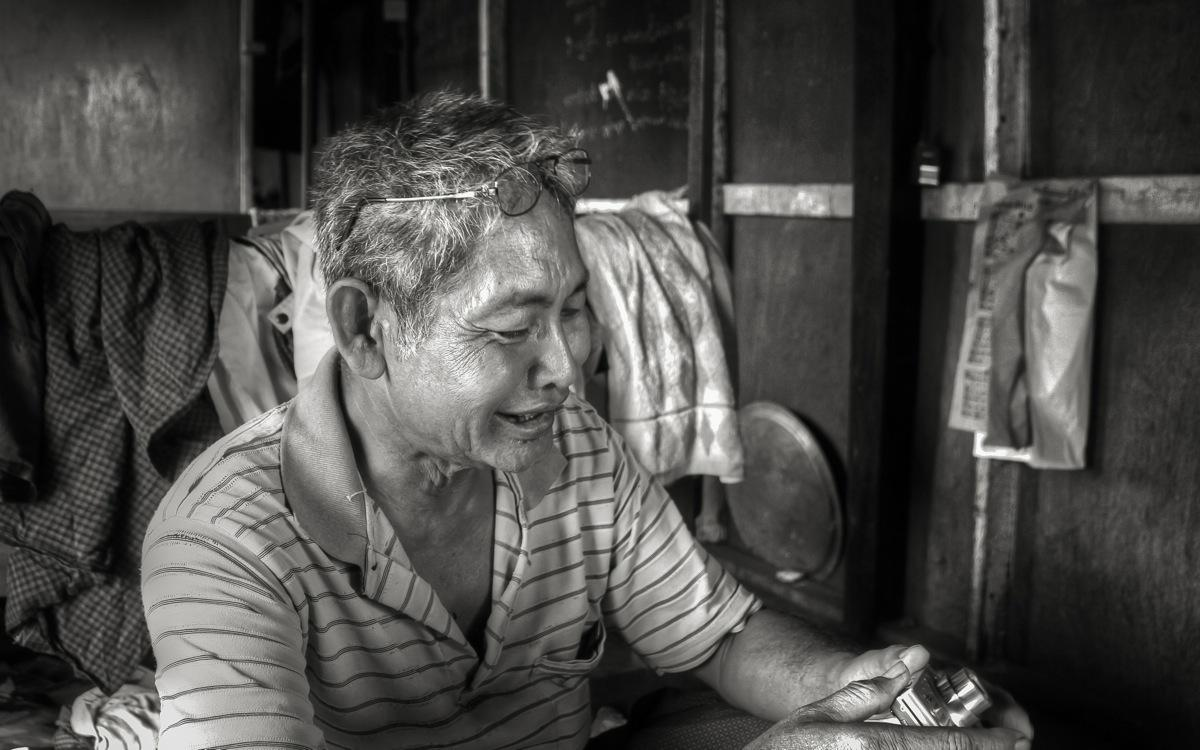 Yangon, Local Man in Dala