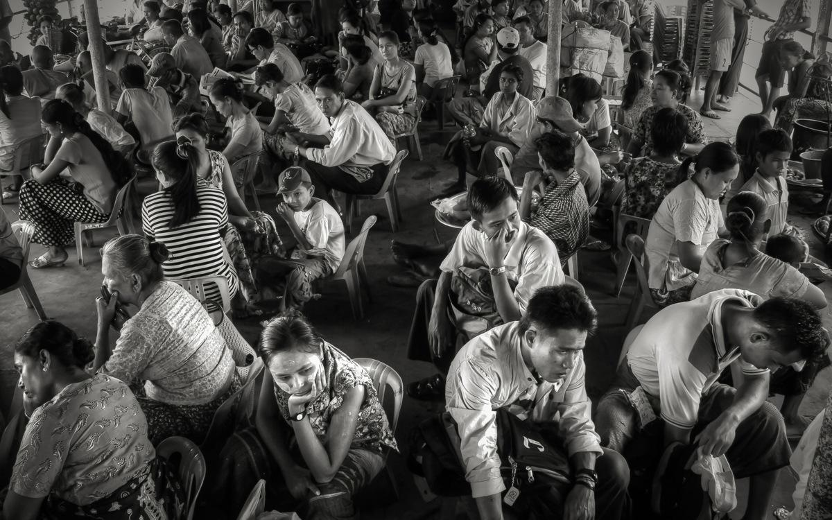 The Ferry From Yangon to Dala