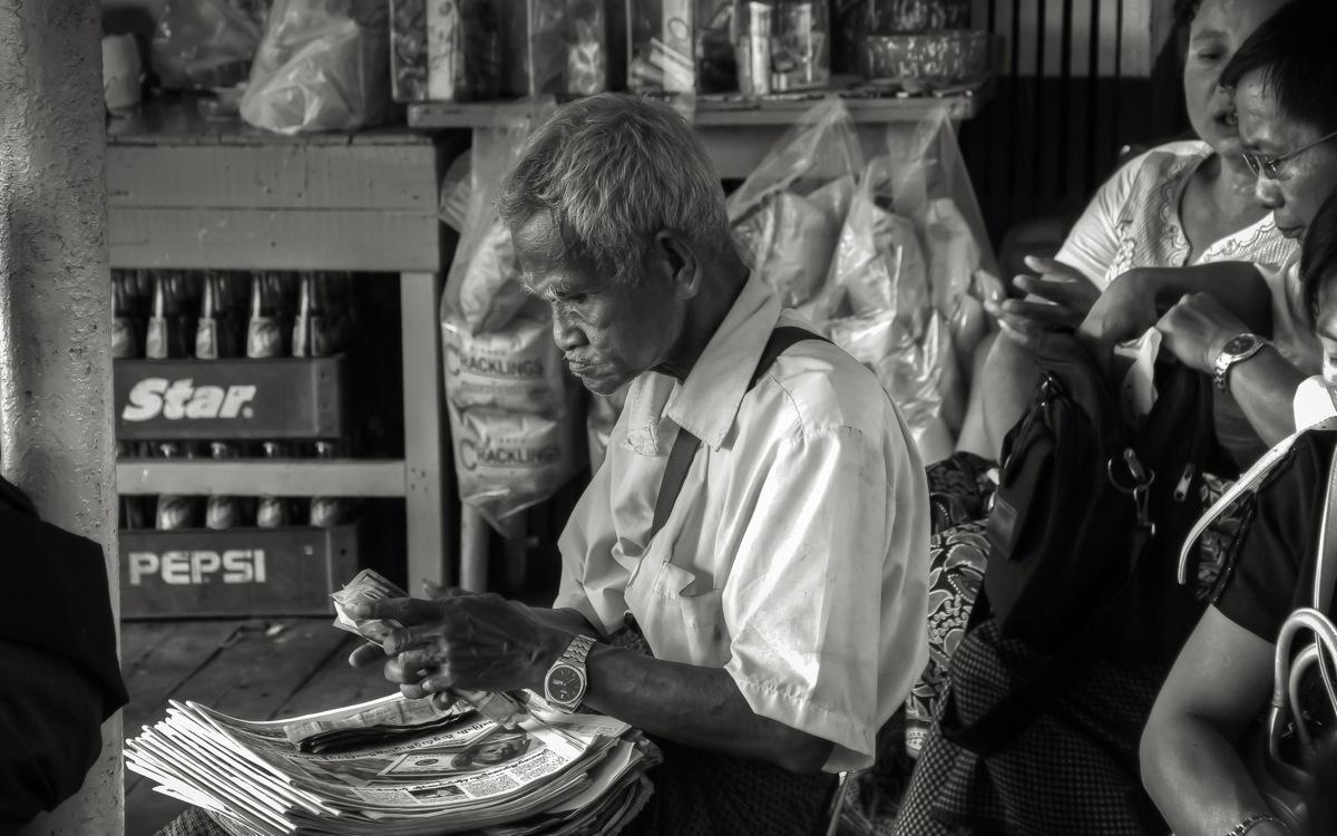 Burma Old Man