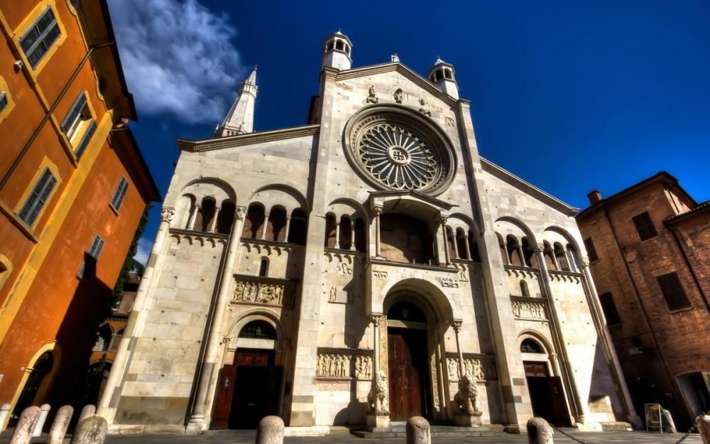 Duomo of Modena Facade