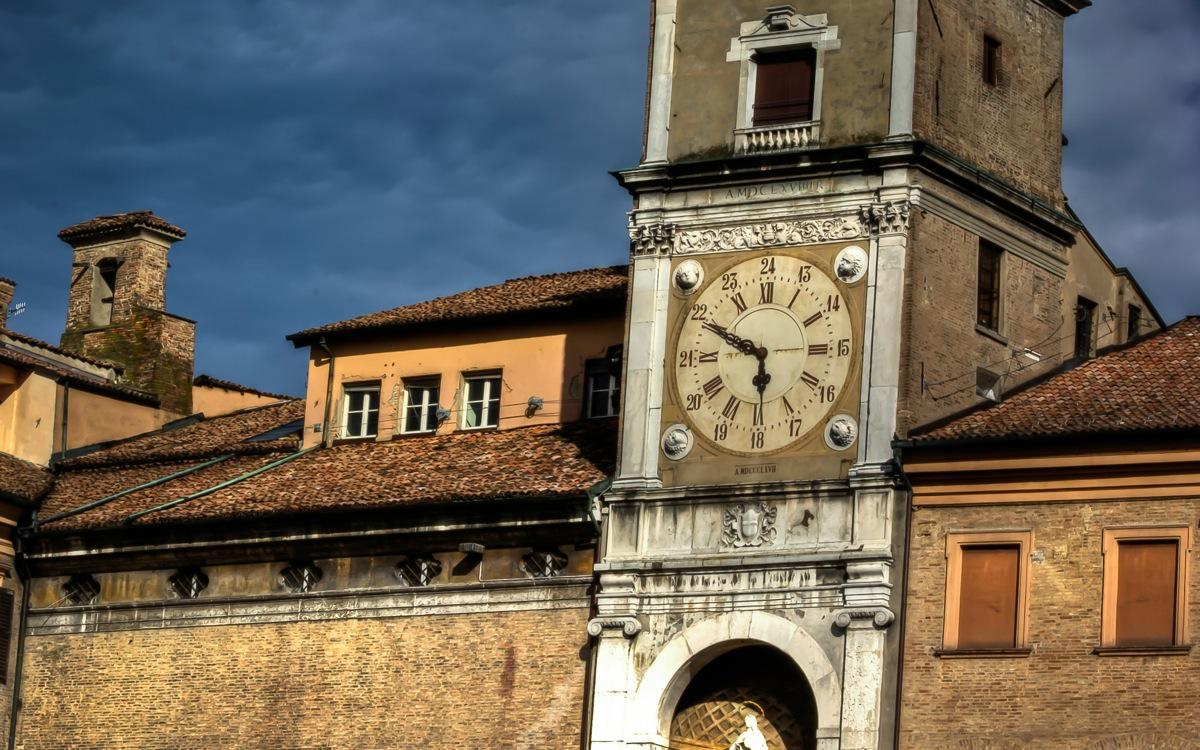 Modena, The Clock Tower (Torre dell'Orologio)