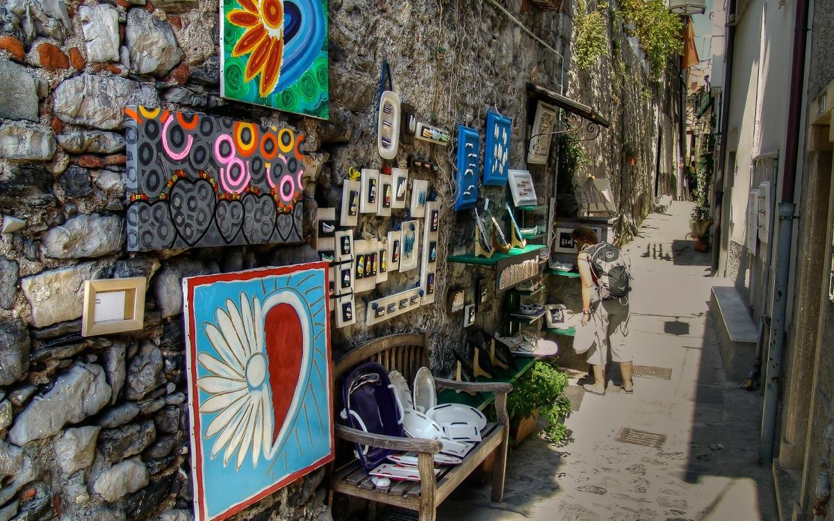 Portovenere, Art in the Streets