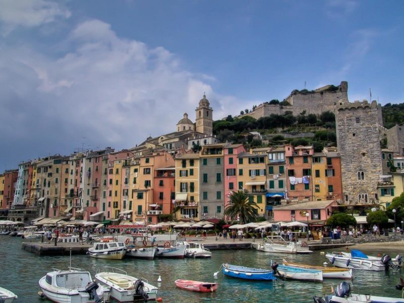 Portovenere Coloured Houses