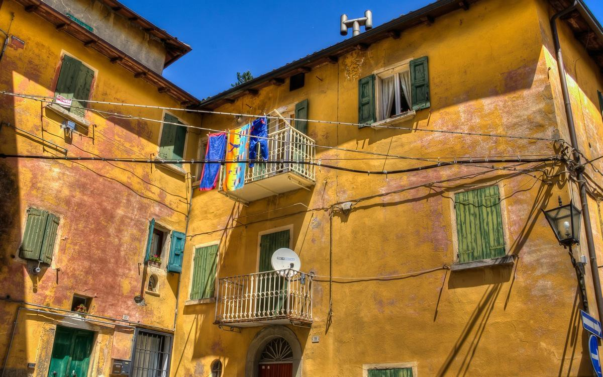 Porretta Terme Colored Houses