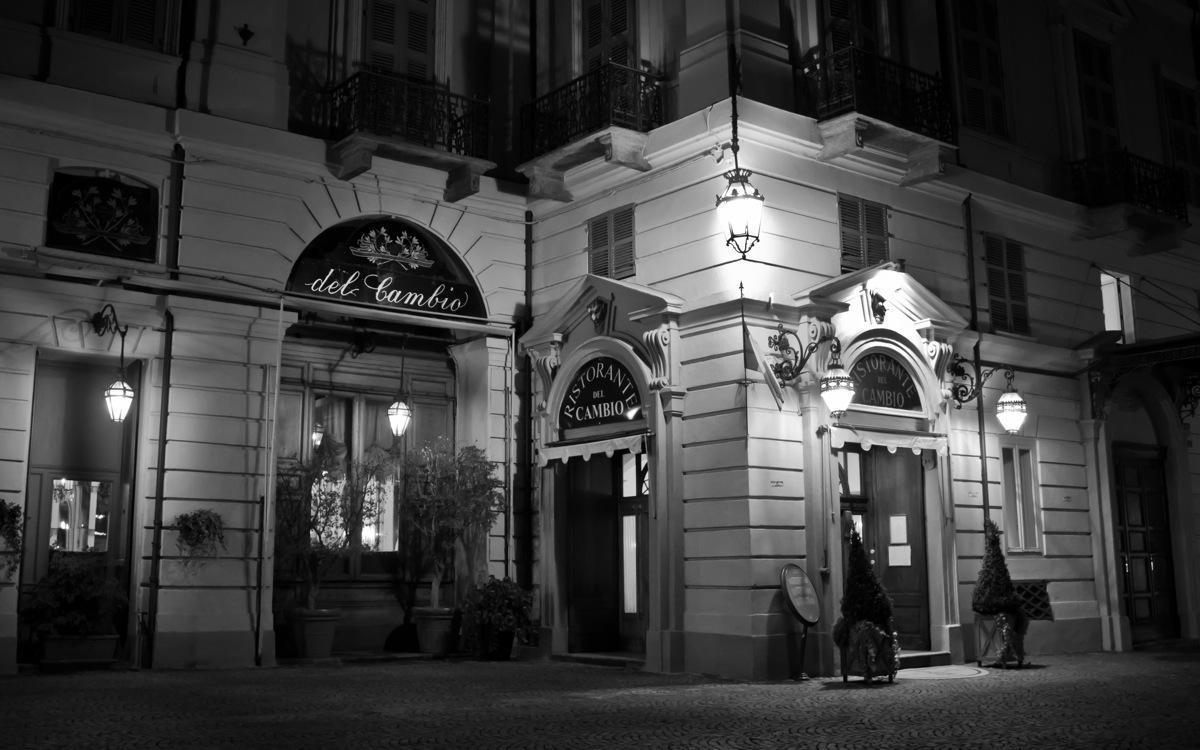 Turin, Del Cambio Restaurant