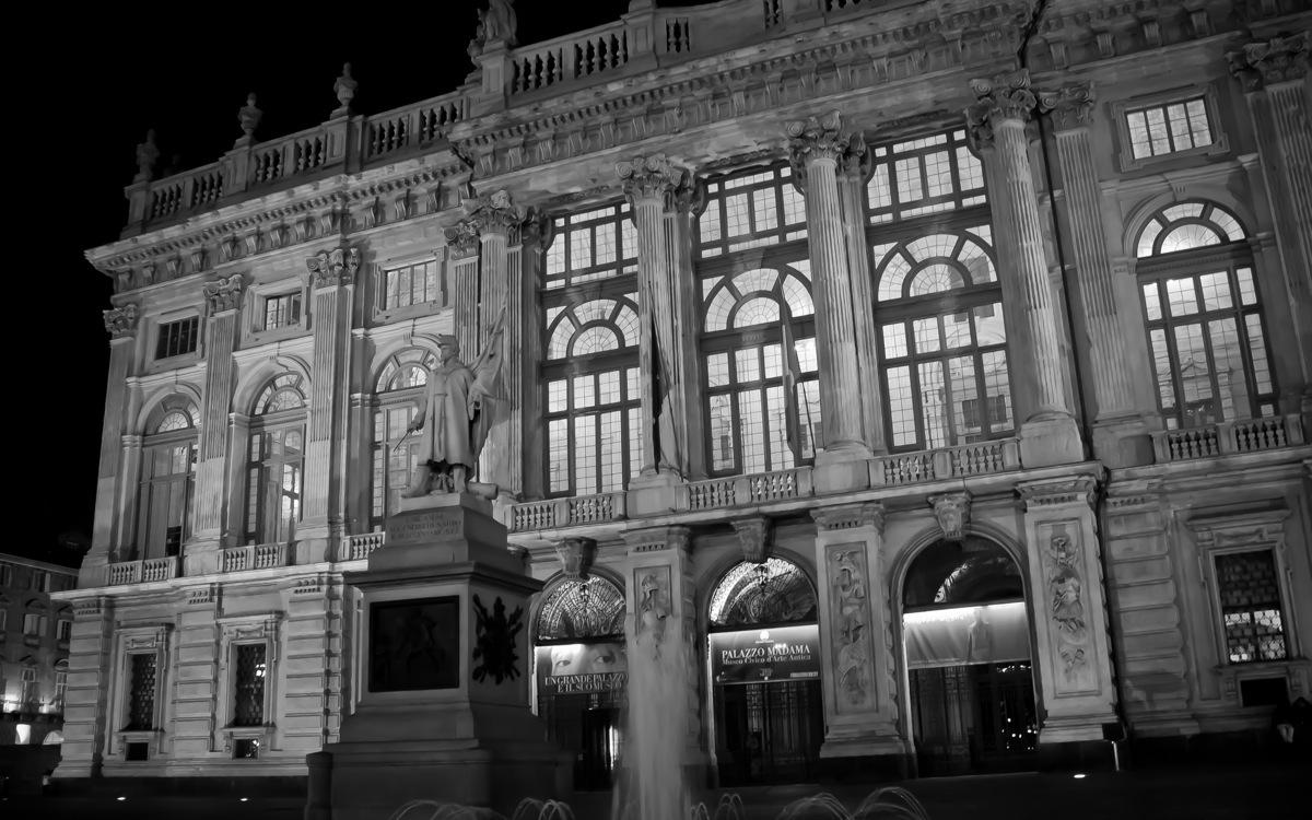 Turin by Night, Best Edited LR B&W-7