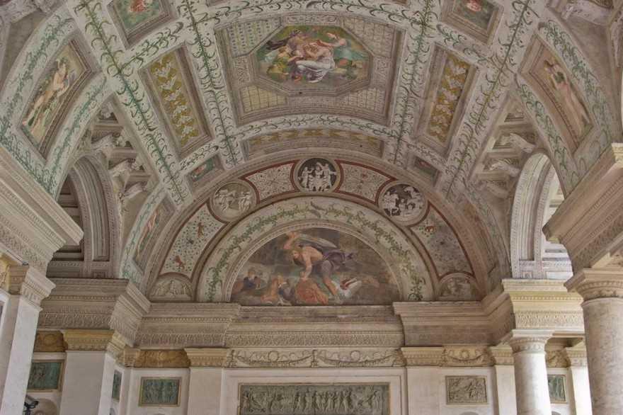 Palazzo del Te - Loggia di Davide