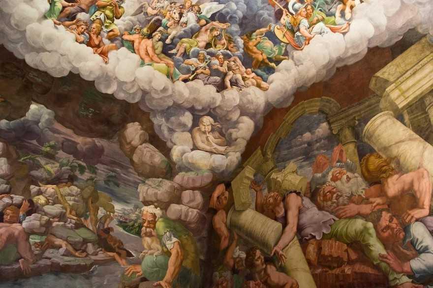 Mantua Palazzo del Te - Camera dei Giganti-2