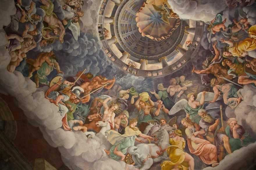 Mantua Palazzo del Te - Camera dei Giganti