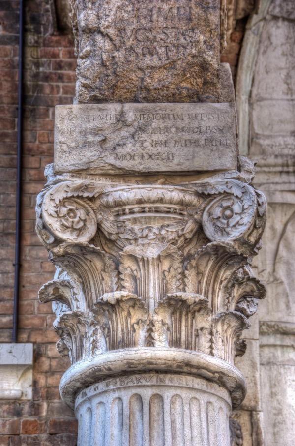 italy-ferrara-ancient-column
