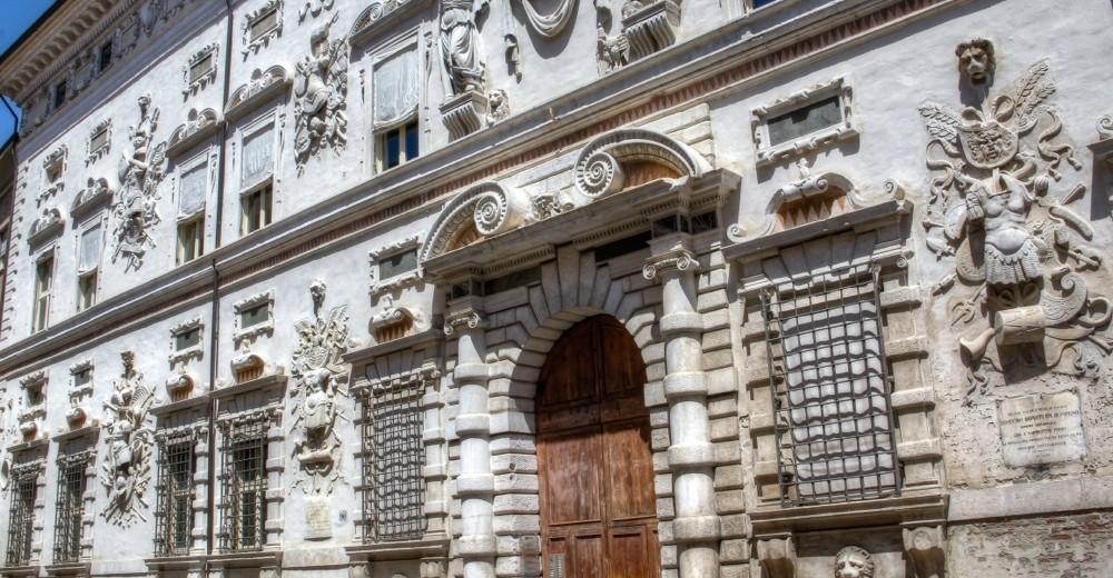 Italy, Ferrara, Palazzo Bentivoglio