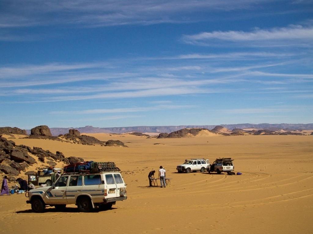 Algeria, 4x4 tour in the desert