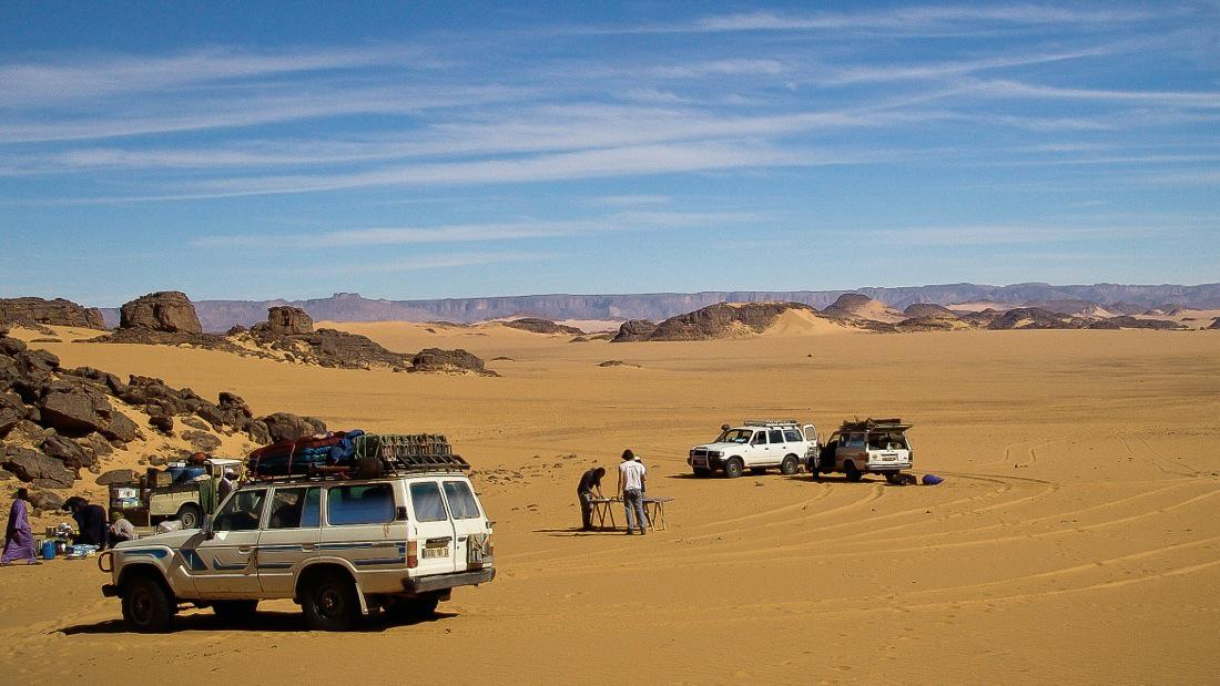 Algeria, 4x4 tour in the desert - Cover