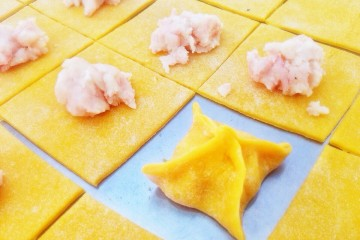 How to Make Fresh Pasta - Filling
