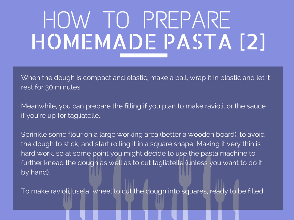 How to Prepare Homemade Pasta [Step 2]