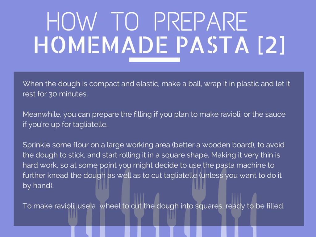 How to Prepare Homemade Pasta [Step 2]