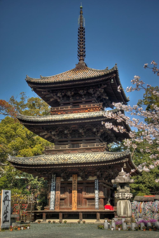 Japan, Shikoku, Ishiteji Temple