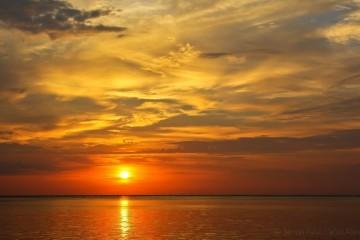 SIladen Sunset Wallpaper