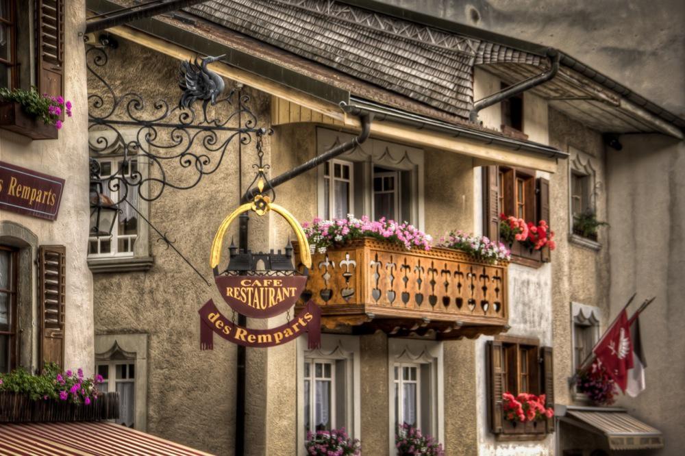 Switzerland, Enchanting Gruyères