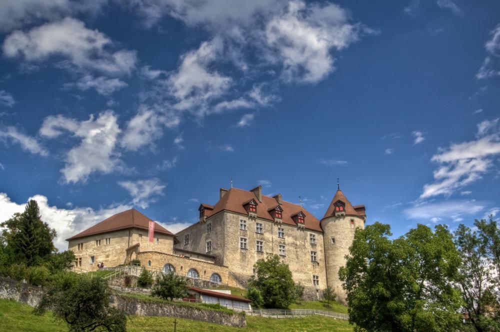 Switzerland, Gruyères Medieval Castle