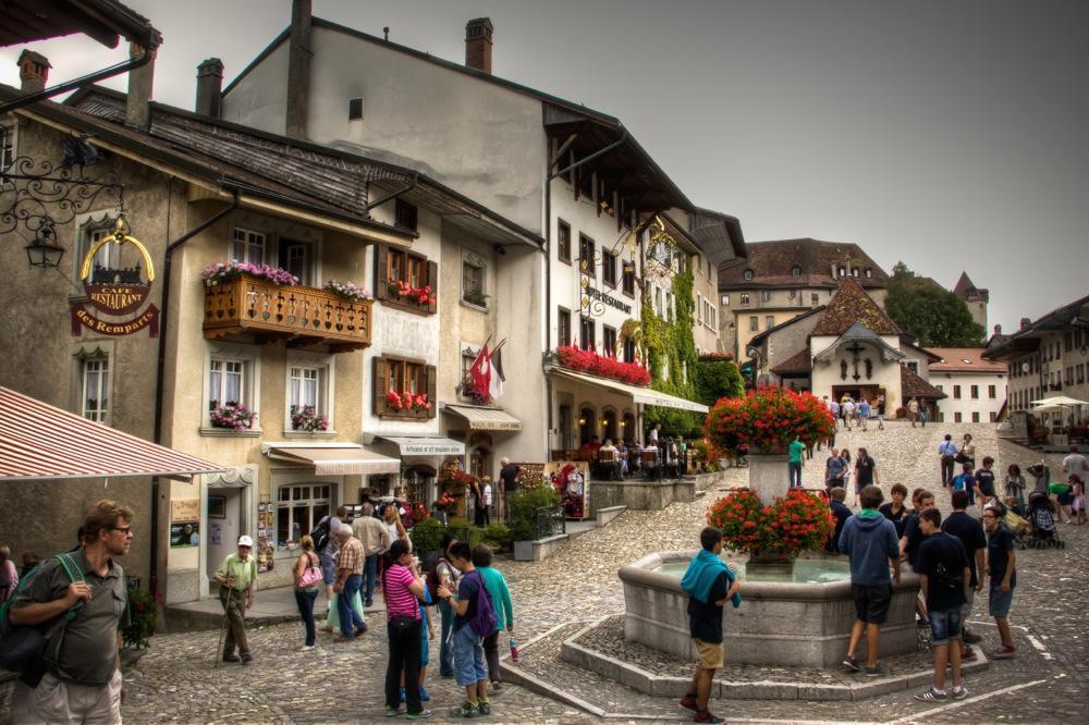 Switzerland, Medieval Gruyères