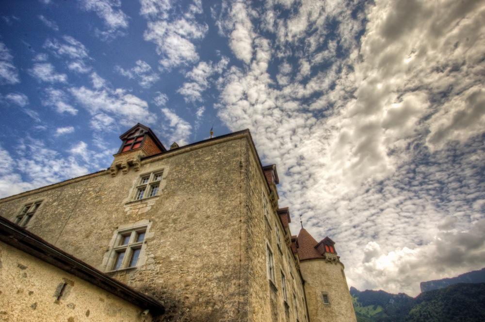 Switzerland, The Castle of Gruyères