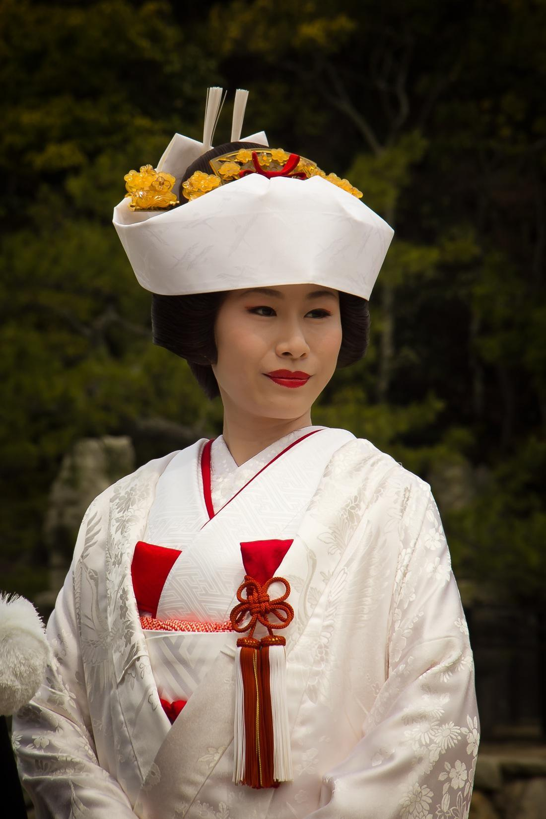 Beautiful Japanese Traditional Wedding Costume