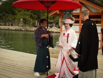 Choreography of a Traditional Japanese Wedding